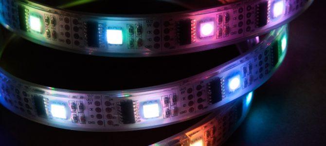 Tilbud på LED strips stiger i popularitet online